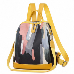 Bags For Women 2020 New Retro Fashion Zipper Ladies Backpack Oxford High Quality School Bag Shoulder Bag For Youth Bags zOTy#