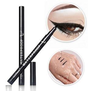 Новый Smooth Водонепроницаемый Liquid Eye Liner Подводка Pen Макияж Косметические Black Magic Maquiagens Колоссальный Delineador S9