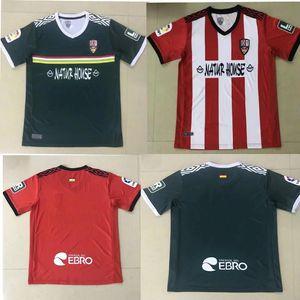 Promoção20 21 Ud Logroñés Futebol Jerseys Andy Inaki errasti Zelu Vitória 2020 2021 Logrones Camisetas de Fútbol Camisas de futebol Tailândia