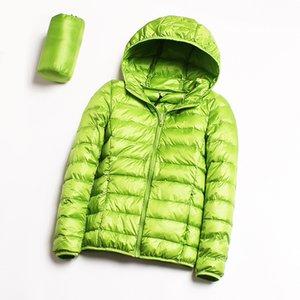 Bella Philosophy Women 90% Duck Coat Ultra Light Warm Female Portable Plus Size Down Jacket Winter