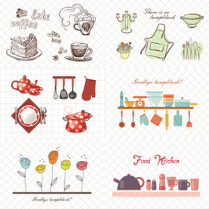 Kitchen Waterproof Wall Stickers Oil Proof Paper Self-adhesive High Temperature Anti-oil Stickers Home Stove Tile Wallpaper BWD2576