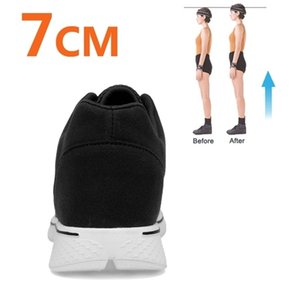 Sneakers Heightening Elevator for Men Height Increase Insole Shoes Tall Man 7CM 201217
