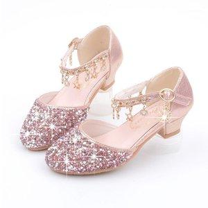 الأحذية المسطحة اللباس حزب أحجار الراين عالية الكعب الحجم 26-38 ل big girl الأميرة كيد الكعب جلد chaussure دي mariage1