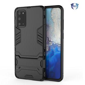 Accand Case Armor TPU PC Cover Cover для Samsung Galaxy S21 S20 Fe S10 Plus Note20 Примечание 10