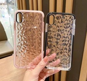 Per iPhone 12 di lusso gelatina di diamante della cassa del telefono di iPhone 12 11 Mini X XR XS Max SE2 7 8 6 Plus TPU copertura antiurto trasparente Pro Max