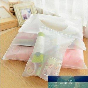 السفر حقيبة التخزين متجمد سميكة من البلاستيك Reclosable سحاب حقيبة ختم أكياس بلاستيكية لتغليف هدية الملابس والمجوهرات