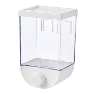Mutfak Duvarı Monte Tahıl Dispenseri Kuru Depolama Konteyner Kendi Kendine Yapıştırıcı1