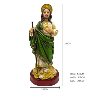 Presenting Gifts, Home Decoration, Presenting Items, Collectibles, Resin Crafts, Jesus, 15.75 inches, Gold Coin Decoration