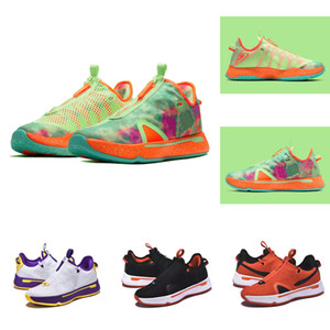 Top Kids Gatorade PG 4 ASW AllStar sales shoe for sale Paul George 4 men women Basketball shoe store size 36-46
