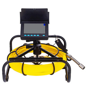 Новый 4.3inch 17мм DVR Snake Видео эндоскоп Ins [pection Pipe камера Drain Канализационные Хорошо Wall Подводные инспекции камеры системы