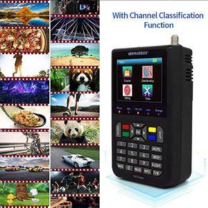 s2 h.265 V9 Finder HD Satellite Finder DVB -S2 Digital H.265 Full 1080P FTA 3.5
