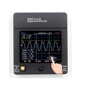 DSO112A TFT البسيطة راسم رقمية تعمل باللمس المحمولة USB راسم اجهة 2MHz 5Msps