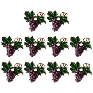 10Pcs Western Fruit Napkin Buckle Grape Napkin Ring Holder Metal Mouth Cloth Ring Tableware