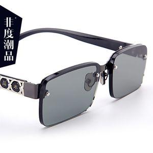 Donghai Crystal Plain Presbyopia Anti Radiation No Degree Old People's Stone Glasses Sunglasses Four Colors Optional