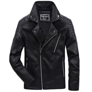 Motorcycle Jackets Men Waterproof Casual Softshell Jacket Jaqueta Man Fashion Autumn Winter Windbreaker Biker Leather Coats