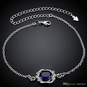 Leg del braccialetto dei monili del piede del calzino Silver Jewelry 925 Hamsa del braccialetto di .925 argento Boho 925 Sterling Silver coreano calzino