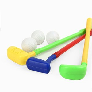 6-1 kids together Golf Outdoor Games Mini Golf Club toys parents children interactive fitness toys Boys Toys