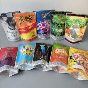Neue Flamin Hot Runtz Jokesup 3.5G Marathon Og Bag CommissionRuntz Frosties ZOURZ Riechende Verpackung für 10 Typen Mylar Bag