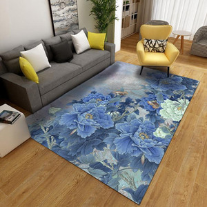High Quality Art Carpet For A Living Room Bedroom Non-Slip Floor Mat Mode Kitchen Carpet High Quality Stereo Colorful Flowers1