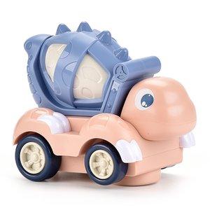 العالمي الكهربائية الديناصور خلاط سيارة مضحك حفر حفر خلاط مقاومة السقوط الديناصور هندسة السيارات لعبة للأطفال