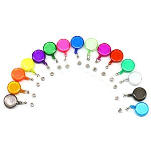 27 Цветов Party Standious Badge Reel Выдвижной лыжный пароль Идентификационные карты Значки Держатель Ключ Цепные катушки Анти-потерянный клип 98 N2