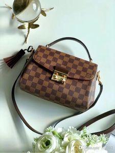 2020 NEW1 Klasik N41581 25..17..9cm moda sırt çantası kadın erkek iyi Bayanlar çanta omuz çantası essenger Crossbody Ücretsiz Toptan Eşya