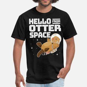 Otter Space Astronaut Funny Otter Pun Gag Gift T Shirt Funky Print Sportswear Tracksuit Hoodie Sweatshirt