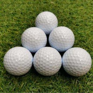 12pcs / bag Golf topları İki kat Uygulama için Blank Golf Surlyn Balls