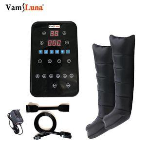 VAMS Air Compression dispositivos Com 6 Câmara para presoterapia Massage Therapy Botas, bomba para a circulação mais rápida recuperação