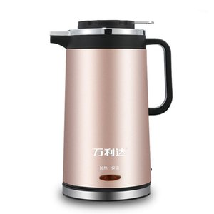 Electric Kettles Double-Layer Insulated Kettle 304 Stainless Steel Electric1