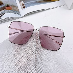 2020 star tide models large square frame sunglasses net Street beat red face significant repair small piece sunglasses ocean