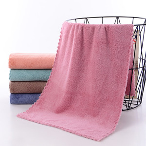Face Towel Microfiber Absorbent Bathroom Home Towels For Kitchen Thicker Quick Dry Cloth For Cleaning Kitchen Towel