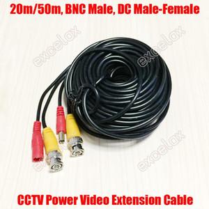 20m 50m Power Video-Verlängerungskabel w / BNC-Stecker 2.1mm-Stecker für CCTV-Überwachungskamera von Excelax