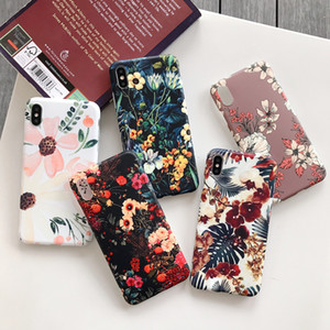 Flower Case for iPhone 11 Pro X XR XS Silicone Back Cover TPU Case for iPhone XS MAX 7 8 Plus Protective Coque