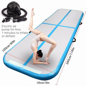Free Shipping 3m Inflatable Cheap Gymnastics Mattress Gym Tumble Airtrack Floor Tumbling Air Track For Sale EQGW#