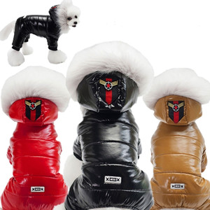Pet Dog Winter Clothes Waterproof Dog Coat Jacket Small Dog Warm Costume Apparel for Chihuahua french bulldog LJ201130