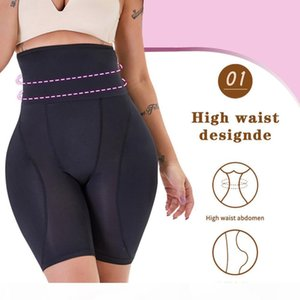 Minifaceminigirl Slimming Sheath Belly Women Butt Lifter Shapewear Panty Padded Thigh Trimmer Waste Trainer Binders And Shapers Y200710