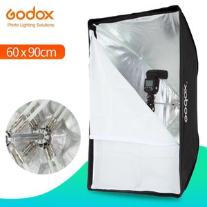 "Godox portatile 60 * 90cm 24"" * 35"" Umbrella Foto Softbox Riflettore per Flash Speedlight (Softbox solo)"