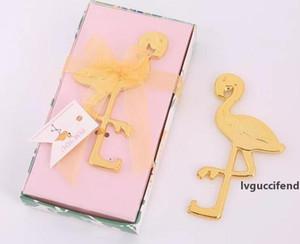Free Express to Your Doorstep European wedding gift small gift wedding gift golden flamingo bottle opener Creative flamingo bottle opener