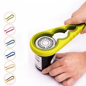 Multi Function 4in1 Bottle opener High Quality Plastic+Rubber Can Open Tools for Kitchen Accessories Kitchenware Gift
