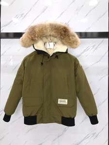OVO CHILLIWACK BOMBER'S VERY OWN 001 Couples down coats with hooded with Siberian coyotes fur collar