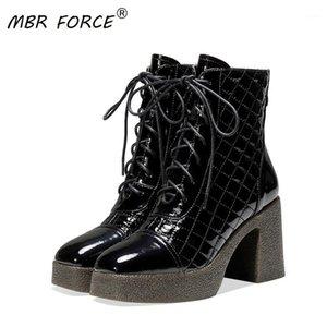 MBR Force 2020Fashion retro Trendy Trendy Signore con tacco alto Ladies appuntita Scarpe in stile britannico stile britannico Grande taglia 34-421