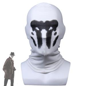 Rorschach Máscara de Halloween Máscaras Mancha de tinta Watchmen traje de cosplay Máscaras animado Mascarillas Superhero Cara Máscaras del partido de los apoyos