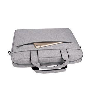 Laptop 13.3 15.6 15.6 14 polegadas À Prova D 'Água Bolsa de Notebook Manga para MacBook Air Pro Computer Ombro Bolsa Pasta Q0114