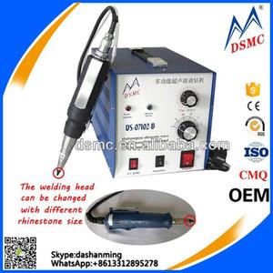 Multifunctional Ultrasonic portable rhinestone hot fix fabric welding machine