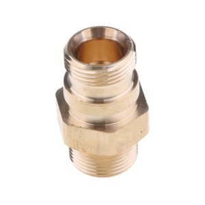 Pressure Washer Washing 22mm Male To 22mm Male Brass Connector Adaptor