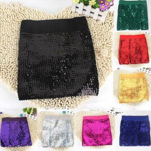 Womens Skirts Gold Sequined Mini Skirt Bodycon Sexy Skirt Short Wrap Dance For Office Lady Party Girl Saia Club Party Quee