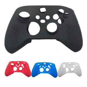 Anti-slip Silicone Case Skin Cover for Xbox Series S X Controller Soft Sleeve Protective Rubber Case Game Accessory DHL FEDEX FREE SHIPPING