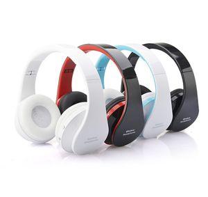 High quality foldable Wireless DJ Audio Bluetooth stereo Headset Handsfree Headphones Earphone Earbuds with Retail box