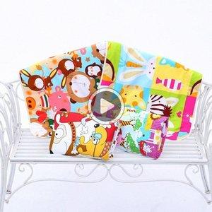 DID0 Детские Изменение Pad 3-слойный лист Моча Pad мультфильм печатных Младенческая водонепроницаемый матрас Мат Пеленки хлопок подгузников кровать случайный цвет x1Jb